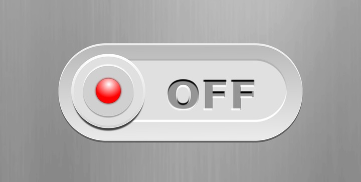 'Off' switch