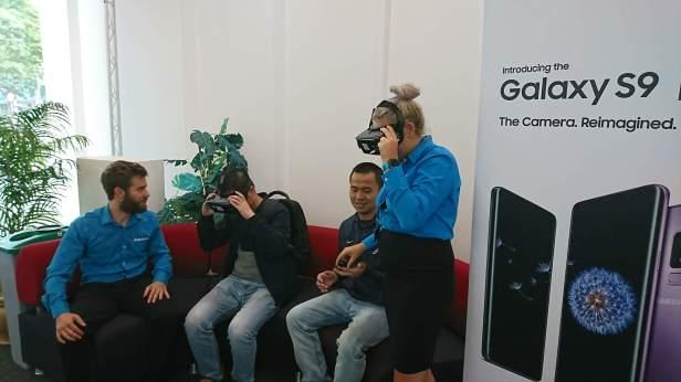 Samsung VR diplay