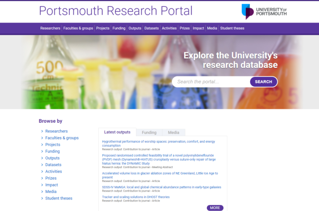 Find out more…about Pure! – Research and Innovation Services