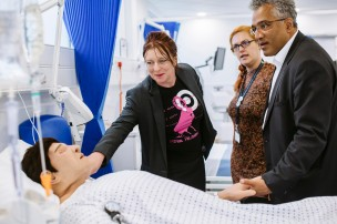 Tour of the University's Centre for Simulation in Health and Care